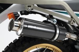 ビームス(BEAMS)SS300カーボンSP スリップオンマフラーSEROW250 Fi 2008~政府認証 [G224-08-004]