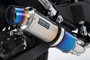 ビームス(BEAMS)R-EVO ヒートチタンサイレンサーマフラーZ125 PRO 政府認証 [G424-53-007]