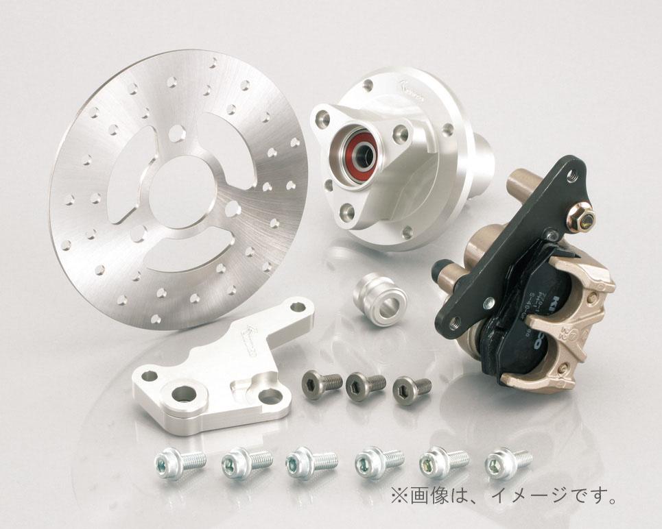 キタコ(KITACO)FディスクKIT(8吋専用) モンキー TYPE-X/シルバー(500-1083420)