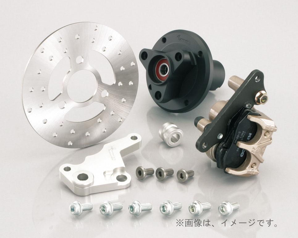 キタコ(KITACO)FディスクKIT(8吋専用) モンキー TYPE-X/ブラック(500-1083430)