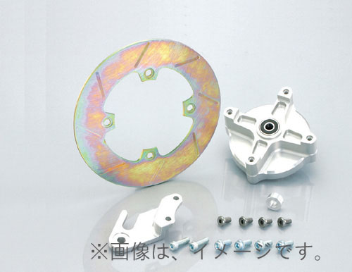 キタコ(KITACO)FディスクハブKIT APE50/100(500-1122100)