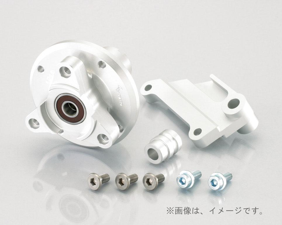キタコ(KITACO)Fハブ+サポート(タイプX) モンキー 27-350-10/シルバー(508-1083120)