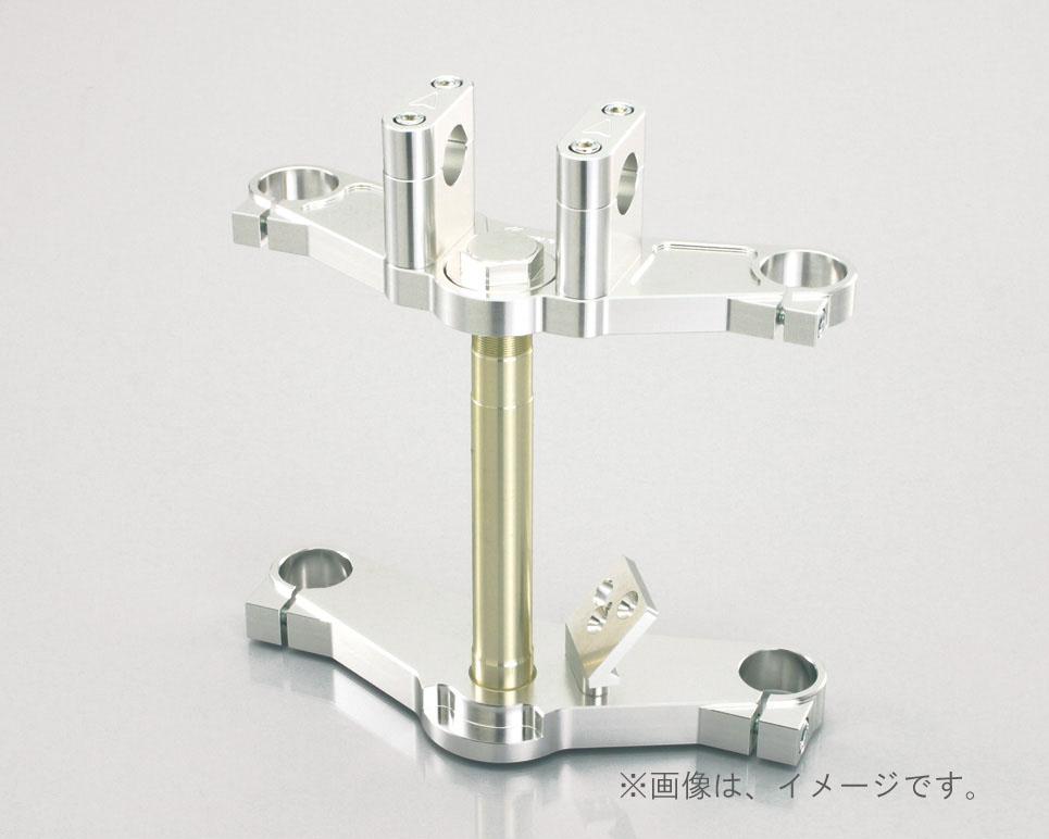 キタコ(KITACO)アルミトップ&ステムSET(30:40) モンキー/タイプX/シルバー(565-1123300)