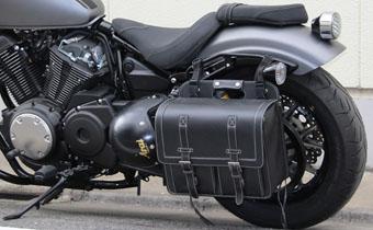 キジマ(KIJIMA) サドルバッグ L ブラック W380X400X180 20L[FR-A00001]