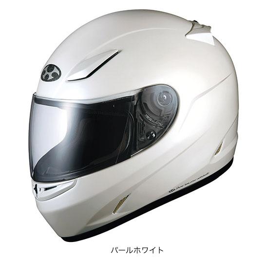 OGK(オージーケー) フルフェイスヘルメット FF-RIII(FF-R3) (パールホワイト/L(59~60cm未満))