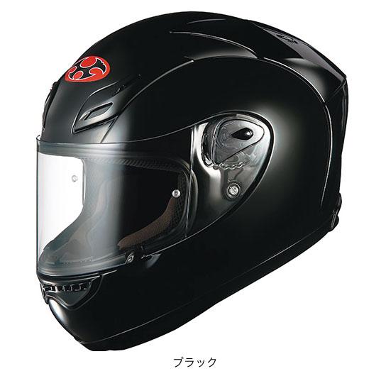 【K】OGK(オージーケー) フルフェイスヘルメット FF-5V (ブラック/M(57~58cm))
