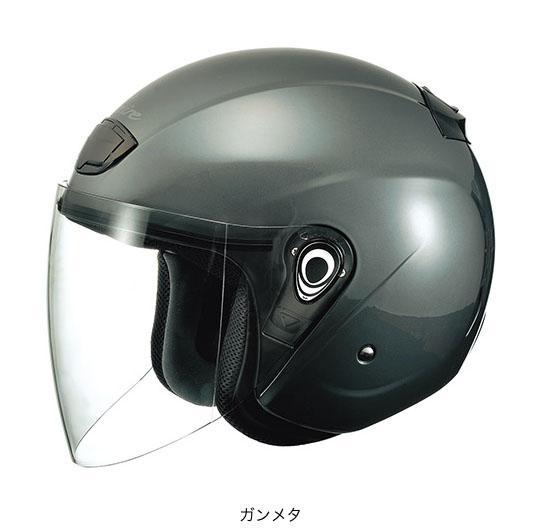 OGK(オージーケー) スポーツジェットヘルメット ヴェニーレ (ガンメタ/57~59cm)