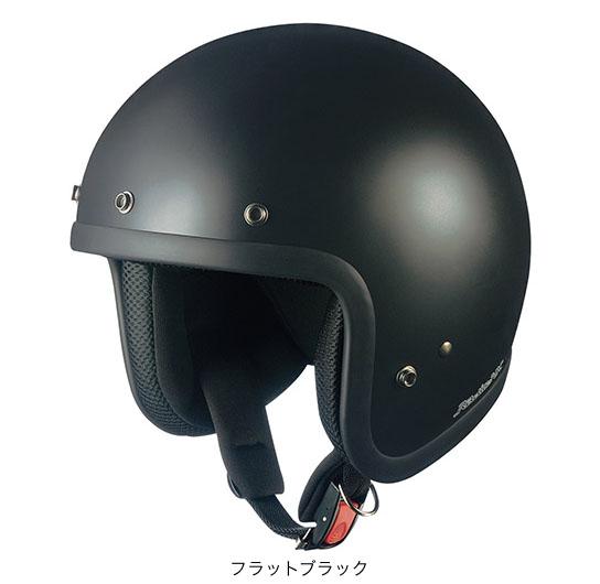 OGK(オージーケー) ジェットヘルメット RADIC(ラディック)NX (フラットブラック/M(57~58cm))