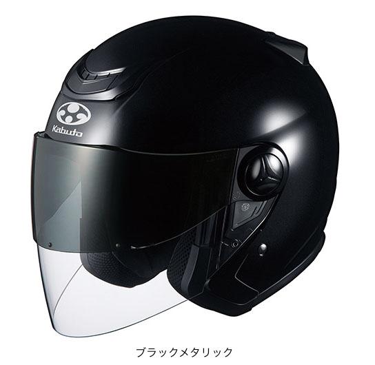 OGK(オージーケー) スポーツジェットヘルメット AFFID(アフィード)・J (ブラックメタリック/S(55~56cm))