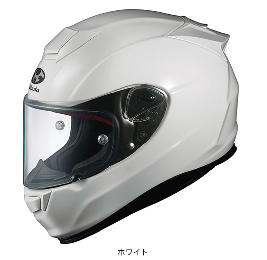 OGK(オージーケー) フルフェイスヘルメット RT-33 (ホワイト/XS(53~54cm))