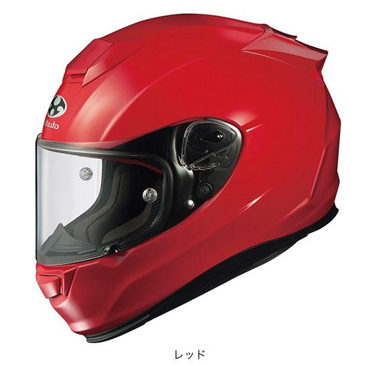 OGK(オージーケー) フルフェイスヘルメット RT-33 (レッド/L(59~60cm未満))