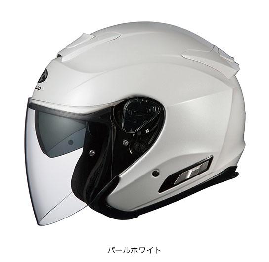 OGK(オージーケー) スポーツジェットヘルメット ASAGI(アサギ) (パールホワイト/L(59~60cm未満))