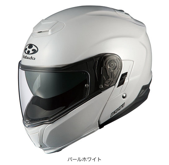 OGK(オージーケー) フルフェイスヘルメット IBUKI(イブキ) (パールホワイト/XS(53~54cm))