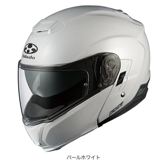 OGK(オージーケー) フルフェイスヘルメット IBUKI(イブキ) (パールホワイト/M(57~58cm))