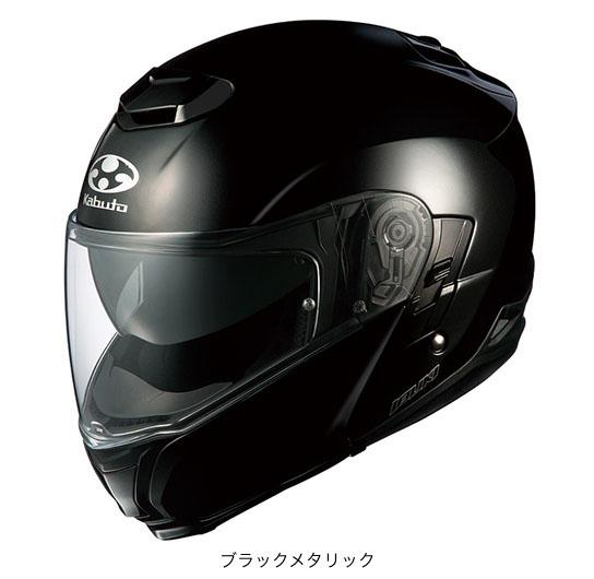 OGK(オージーケー) フルフェイスヘルメット IBUKI(イブキ) (ブラックメタリック/M(57~58cm))