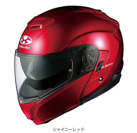 OGK(オージーケー) フルフェイスヘルメット IBUKI(イブキ) (シャイニーレッド/M(57~58cm))