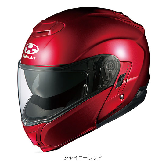 OGK(オージーケー) フルフェイスヘルメット IBUKI(イブキ) (シャイニーレッド/L(59~60cm未満))