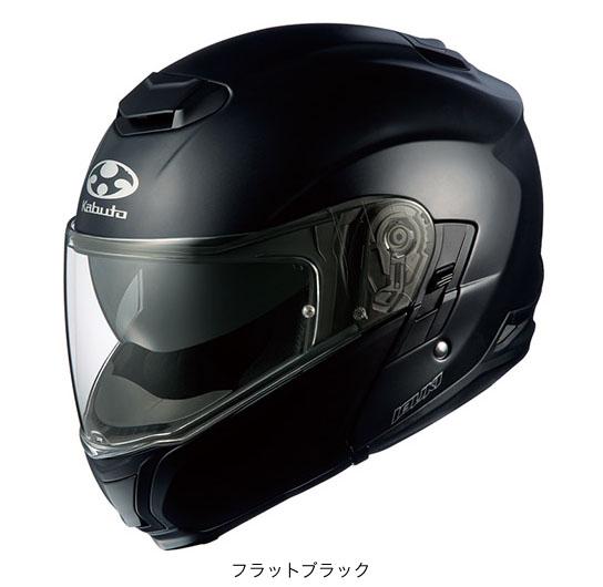 OGK(オージーケー) フルフェイスヘルメット IBUKI(イブキ) (フラットブラック/XXL(63~64cm))