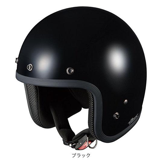 OGK(オージーケー) ジェットヘルメット フォーク (ブラック/57~59cm)