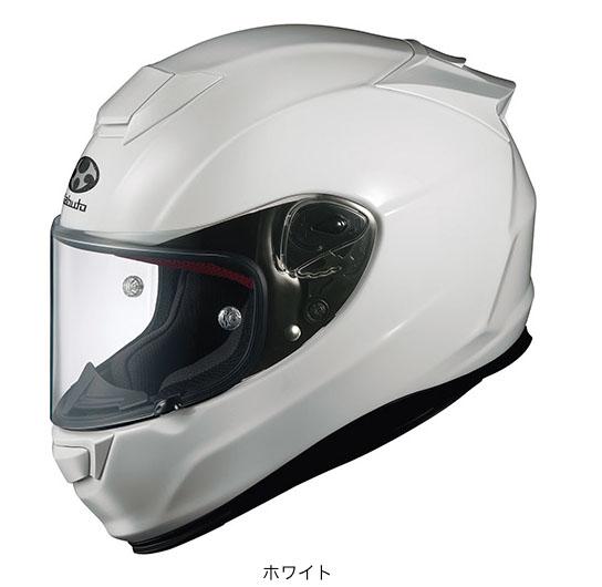 OGK(オージーケー) フルフェイスヘルメット RT-33X (ホワイト/XXL(63~64cm))