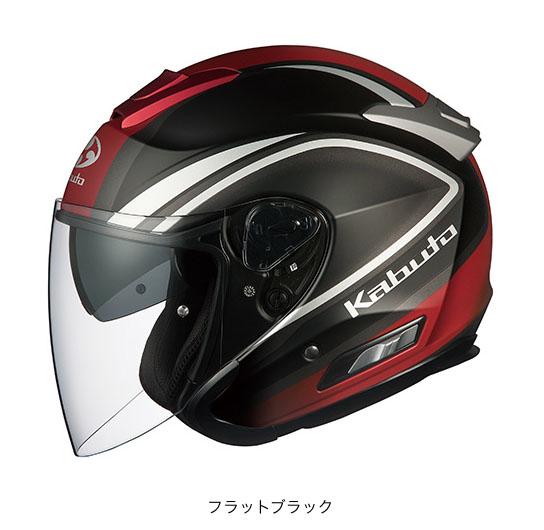 OGK(オージーケー) スポーツジェットヘルメット ASAGI(アサギ) クレガント (フラットブラック/L(59~60cm未満))