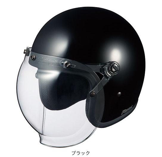 OGK(オージーケー) ジェットヘルメット ロック (ブラック/57~59cm)