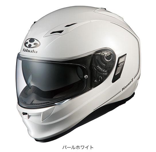 OGK(オージーケー) フルフェイスヘルメット KAMUI(カムイ)・2 (パールホワイト/L(59~60cm未満))