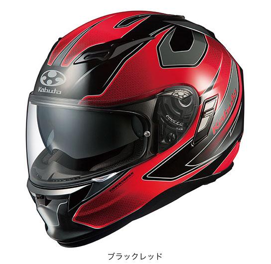 OGK(オージーケー) フルフェイスヘルメット KAMUI(カムイ)・2 スティンガー (ブラックレッド/M(57~58cm))