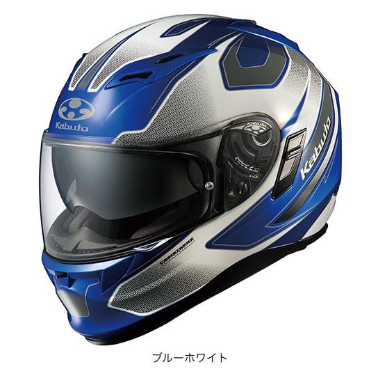 OGK(オージーケー) フルフェイスヘルメット KAMUI(カムイ)・2 スティンガー (ブルーホワイト/M(57~58cm))