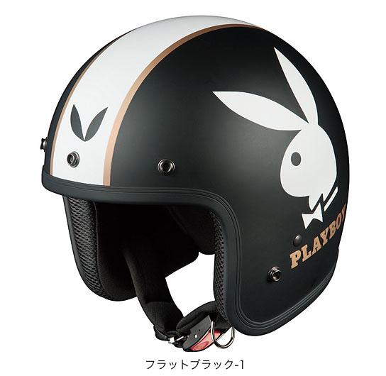 OGK(オージーケー) ジェットヘルメット フォーク・プレイボーイ (フラットブラック-1/57~59cm)