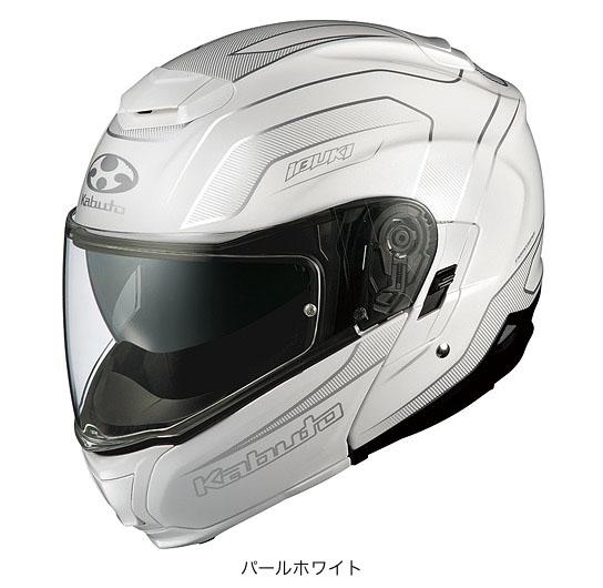 OGK(オージーケー) フルフェイスヘルメット IBUKI(イブキ)・エンヴォイ (パールホワイト/XXL(63~64cm))