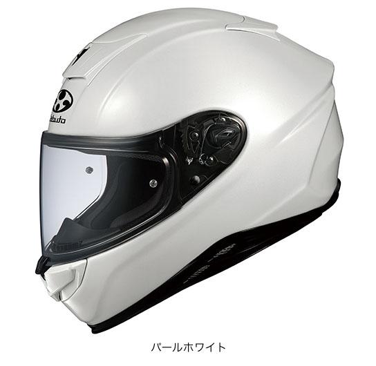 OGK(オージーケー) フルフェイスヘルメット エアロブレード・5 (パールホワイト/XS(53~54cm))