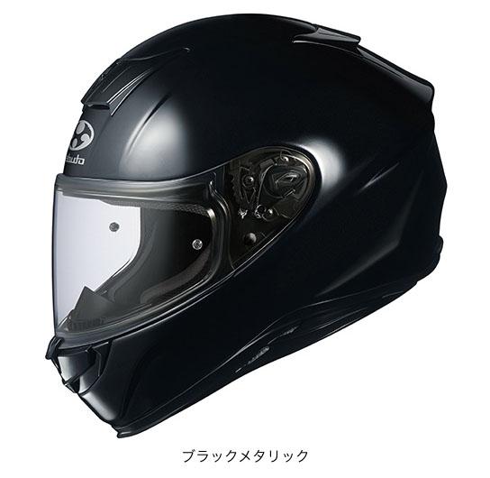 OGK(オージーケー) フルフェイスヘルメット エアロブレード・5 (ブラックメタリック/M(57~58cm))