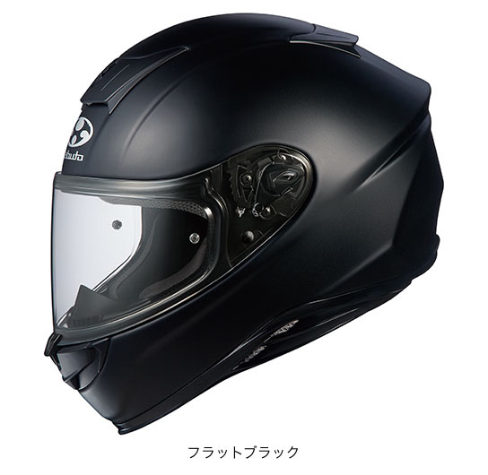 OGK(オージーケー) フルフェイスヘルメット エアロブレード・5 (フラットブラック/XXL(63~64cm))