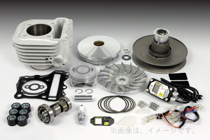 SP武川(タケガワ) Hyper S-Stage α ボアアップ キット (61mm/161cc) (01-05-0264)