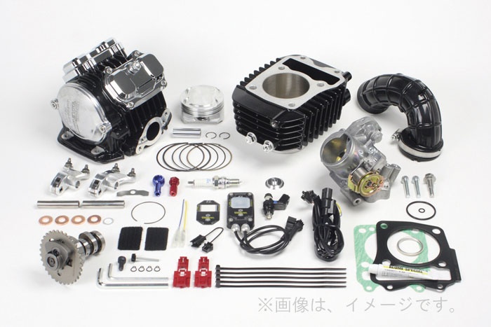 SP武川(タケガワ) Superヘッド 4Valve+R コンボキット181cc (01-05-0504)