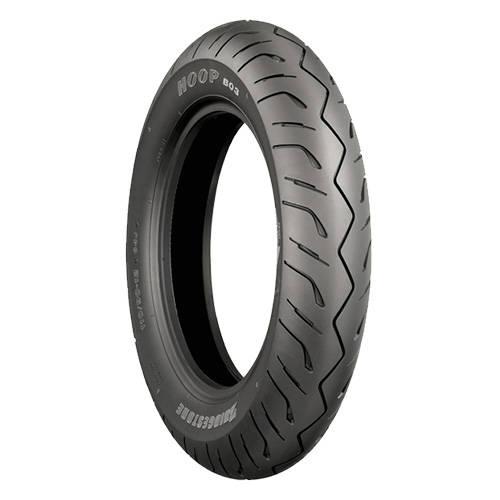 ブリヂストン 二輪車用タイヤ HOOP B03 正規認証品 新規格 MCS07110 120 55STL 70-14 フロント 国内送料無料