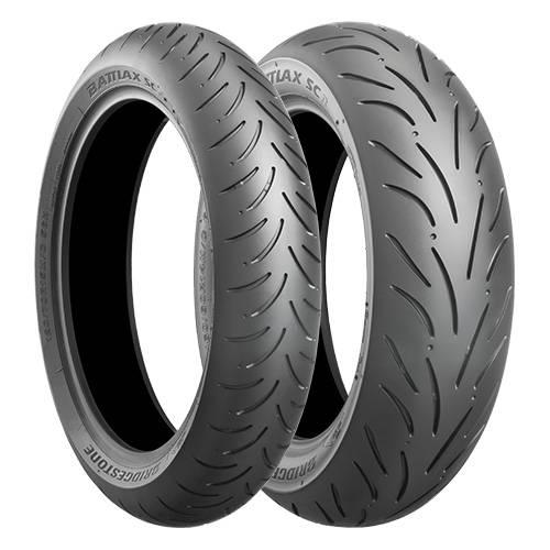 ブリヂストン 二輪車用タイヤ BATTLAX(バトラックス) SC ECOPIA (MCR00559) (リア)160/60R15 67HTL