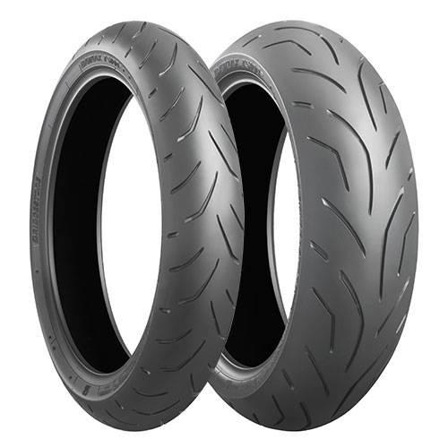 ブリヂストン 二輪車用タイヤ BATTLAX(バトラックス) TS100 (MCR05462) (リア)180/55ZR17(73W)TL