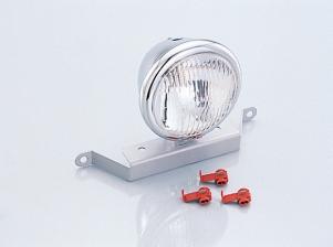 キタコ(KITACO)ヘッドライトKIT 4-1/2タイプ/メッキ(800-1122000)