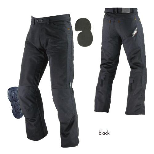 コミネ(KOMINE) PK-710 ライディングメッシュジーンズ (ブラック/S)