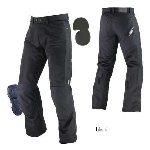 コミネ(KOMINE) PK-710 ライディングメッシュジーンズ (ブラック/2XL)