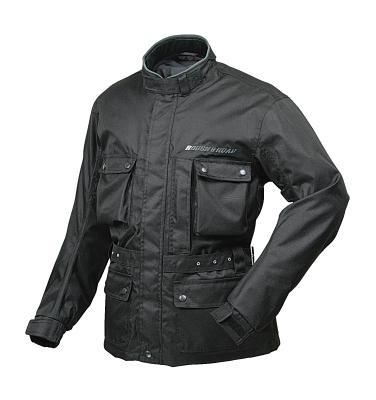ラフ&ロード(ラフアンドロード) 春夏モデル RR7210 デュアルテックストレイルツーリングジャケット [ブラック/M]