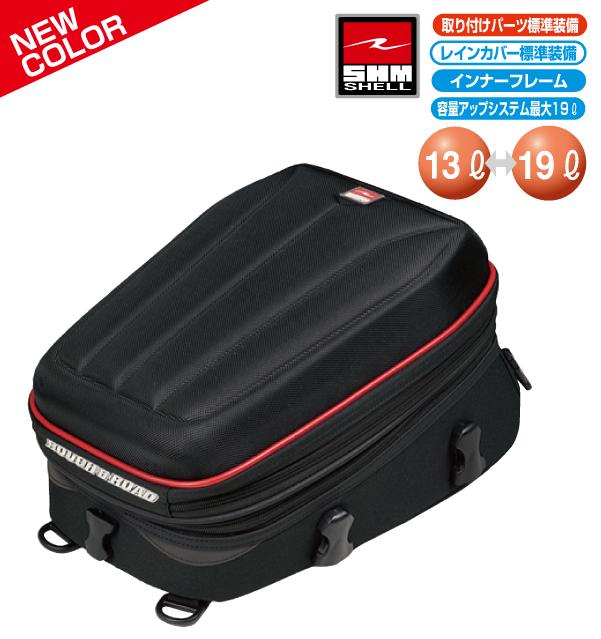 ラフ&ロード(ラフアンドロード) 春夏モデル RR9021 SHMバリアブルシートバッグ [ハードブラック/レッド]