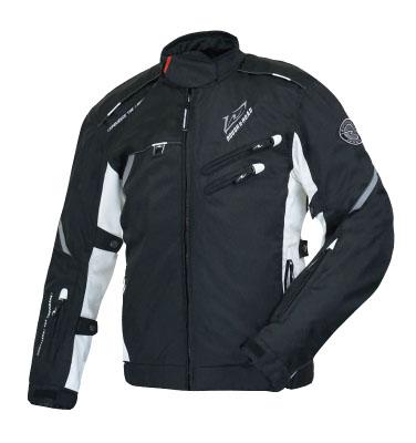 ラフ&ロード(ラフアンドロード)春夏モデル RR4011 SSFライディングジャケット(ブラック/ホワイト・L)