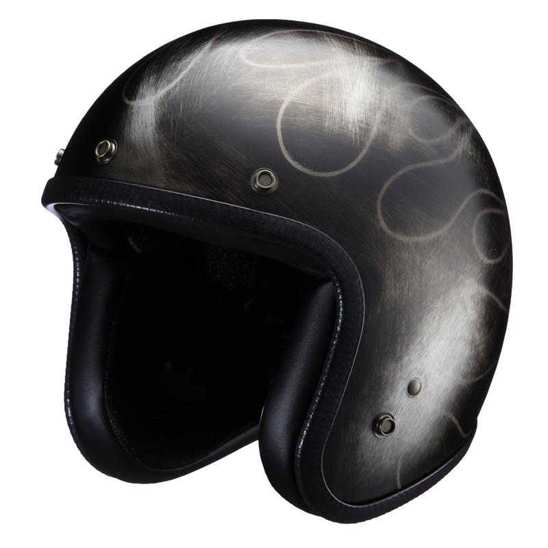 ライズ(RIDEZ) ジェットヘルメット NIKITOR(ニキトー)ヘルメット スクラッチセッション NHL6-17 フリー(57~59cm)