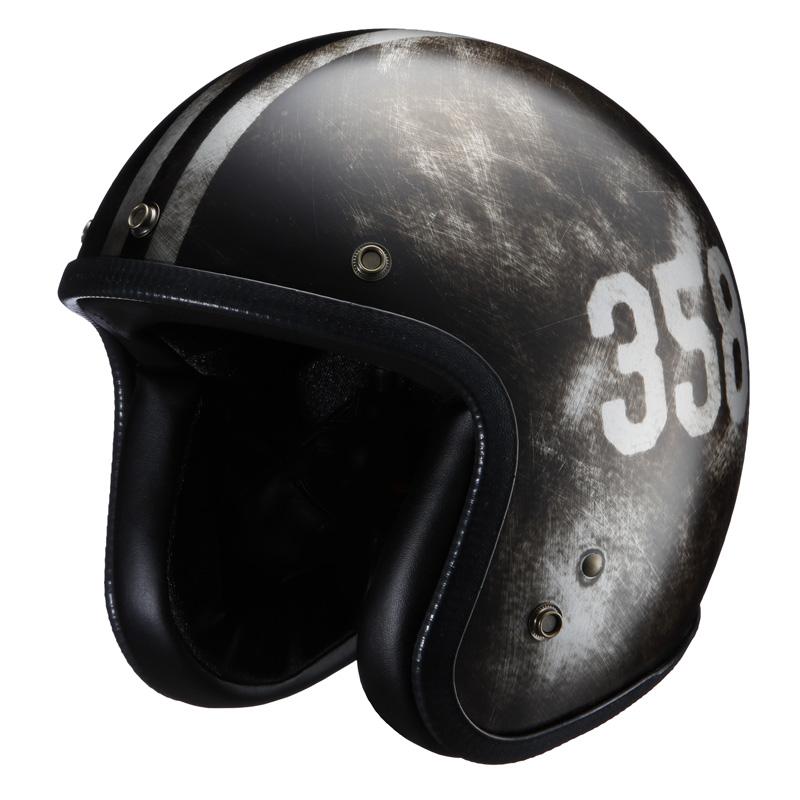 ライズ(RIDEZ) ジェットヘルメット NIKITOR(ニキトー)ヘルメット スクラッチセッション NHL6-18 フリー(57~59cm)