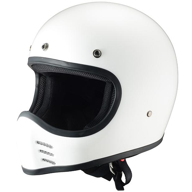 ライズ(RIDEZ) ビンテーシオフロードヘルメット GLORY HELMET(グローリーヘルメット) G-MX ホワイト ML(57-59cm)