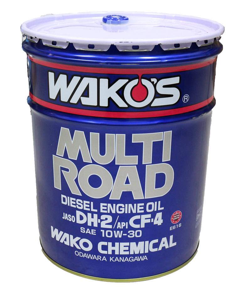 【在庫有】WAKO'S ワコーズ(和光ケミカル) MR マルチロード MR-30 ディーゼルエンジンオイル 10W-30 20L E616