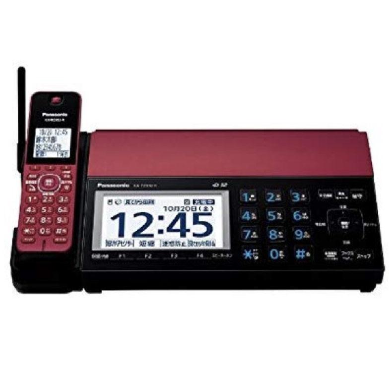 デジタル コードレス 普通紙 ファクス パナソニック Pansonic KX-PZ910DL-R kx-pz910dl-r ボルドーレッド おたっくす1台付 スマホ連携 無線LAN 新品 送料無料